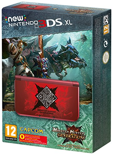 New Nintendo 3DS XL Console, Monster Hunter Generations Preinstaled - Limited Edition