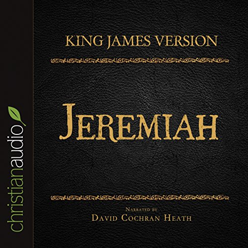 Holy Bible in Audio - King James Version: Jeremiah audiobook cover art