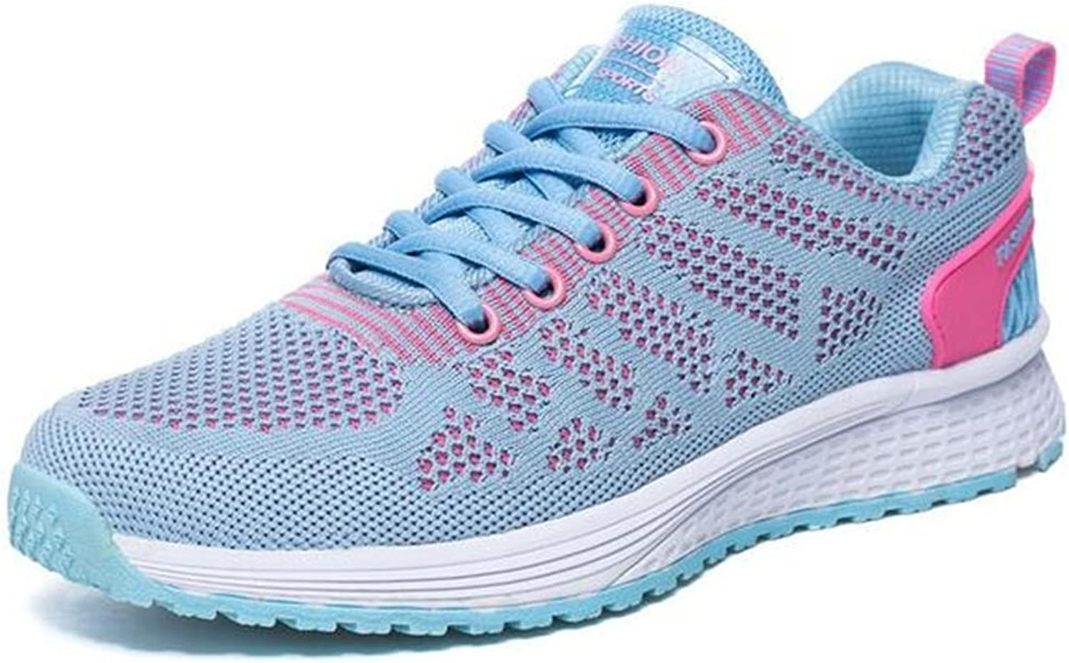 Exing Womens's shoes New Sneakers,Light Soles Running shoes,mesh Ladies shoes,Casual Outdoor shoes,Breathable Gym Sports Trainers