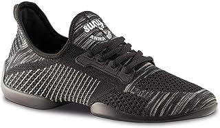 Anna Kern Femmes Dance Sneakers 110 Pureflex - Noir/Gris/Blanc