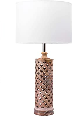 "nuLOOM Roy 24"" Marble Table Lamp"