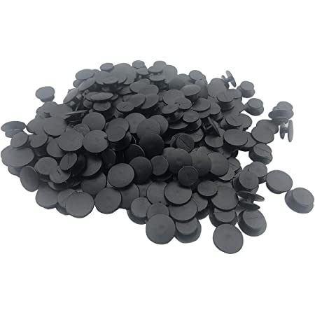 500pcs Black Button Plastic Buckle Fit Flat Shoes Charm for Child DIY Adapts