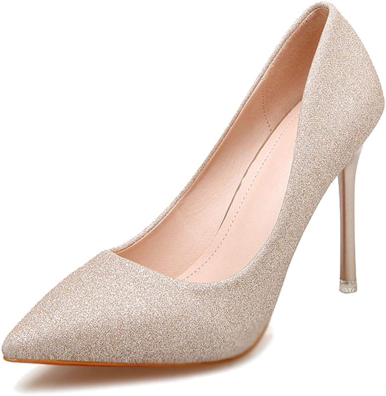 Phil Betty Women's Pumps,Fashion Sequin High Heel gold Silver Red Wedding Pump