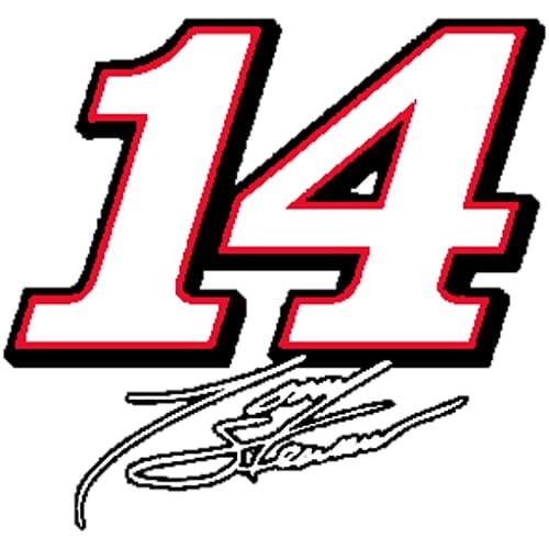 Tony Stewart #14 Clock Widget