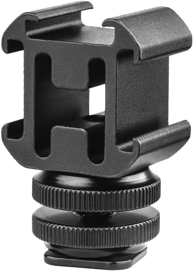 TOAZOE Aluminium Max 53% OFF Camera Hot Shoe Mount Video Adapter Accessory Chicago Mall T