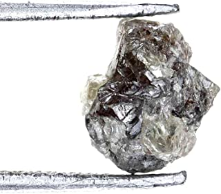 1.25 Carat Real Rough Loose Natural Grayish Color For Diamond Jewelry