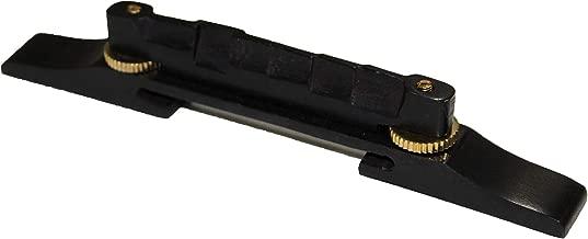 Ebonywood Archtop Jazz Guitar Bridge wGold Hardware-KAY HARMONY GRETSCH GIBSON GUILD