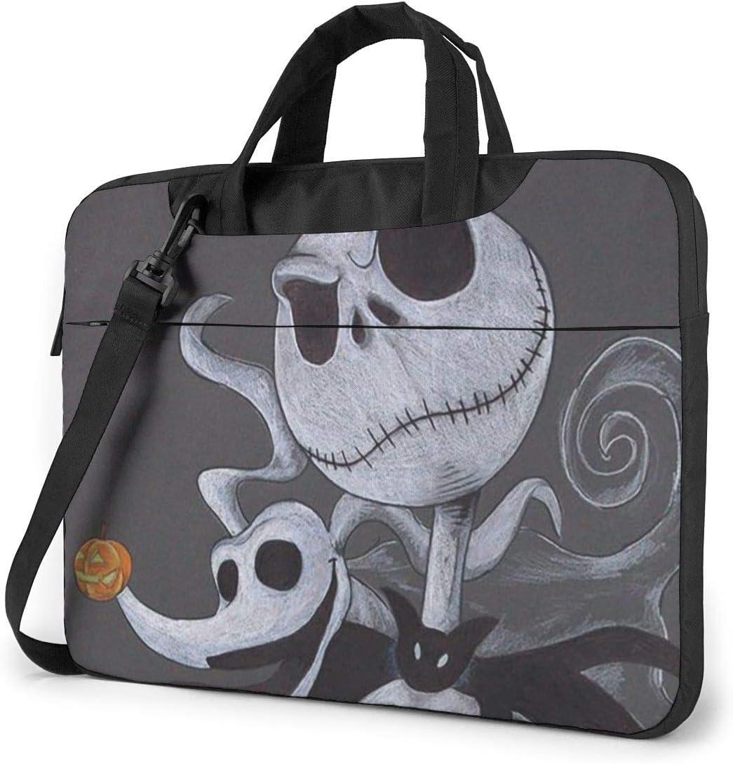 15.6 Inch Laptop Bag Surprise price Soldering Skellington Shoulder Jack Briefcase