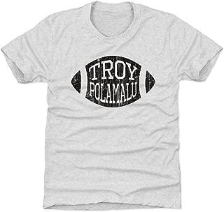 500 LEVEL Troy Polamalu Pittsburgh Football Kids Shirt - Troy Polamalu Football