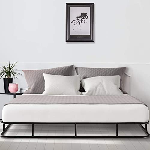 popular Giantex 9 inch High Profile Smart Box Spring, Mattress Foundation Easy Assembly, Heavy Duty Metal sale Slat, Capacity Up to 500 lbs, discount Quiet Noise-Free, King Size Platform Bed Frame online sale