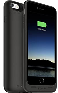 mophie juice pack - Protective Battery Case for iPhone 6s PLUS / 6 PLUS (2,600mAh) - Black (Renewed)