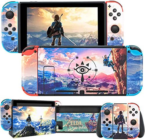 DLseego Switch Skin Sticker Pretty Pattern Full Wrap Skin Protective Film Sticker Compatible product image