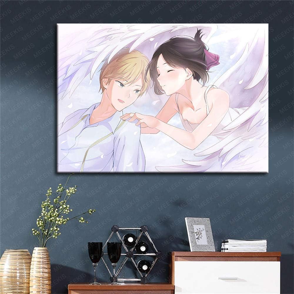 SDFGS Bricolage Jeu de Peinture Personnages Anime Personnages Toile de Lin Peinture num/érique kit de Peinture 40X50 Non encadr/é