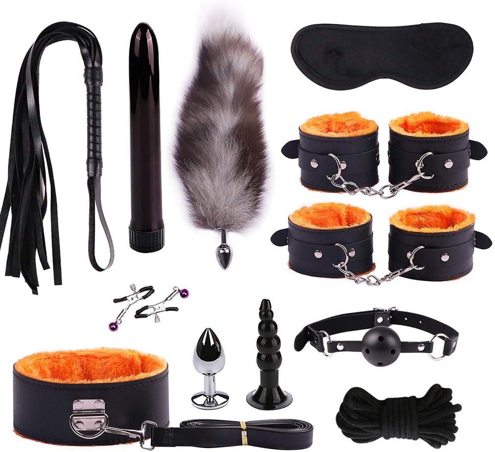 Color : Orange in Bundle 12 Pezzi Grillo AWAGFH LNLW Abiti in Pelle erotici for Adulti Peluche Giocattoli