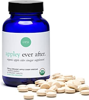 Ora Organic Appley Ever After Organic Apple Cider Vinegar Pills, Caps, 60ct