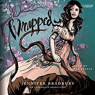 Wrapped                   By:                                                                                                                                 Jennifer Bradbury                               Narrated by:                                                                                                                                 Elissa Steele                      Length: 8 hrs and 23 mins     18 ratings     Overall 3.6