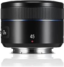 Samsung NX 45mm f/1.8  Camera Lens (Black)