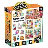 Headu-La Mia Casetta Montessori Gioco, Multicolore, IT20454...