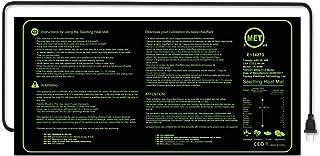 ヒートマット 園芸発芽マット 育苗マット 室内栽培マット 温床関連 育苗器 発芽育苗用 10x20in(17.5W)