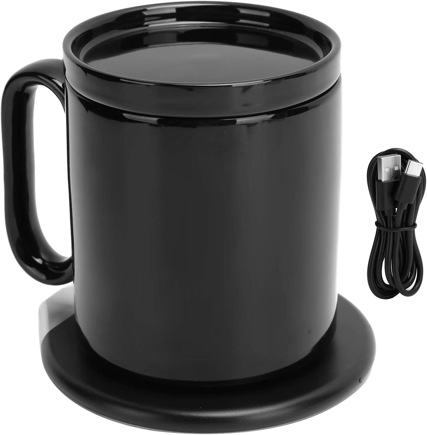 Charging Mug ! Super beauty product restock quality top! Warmer Black Electric Cup Ranking TOP11 Coffee Heating
