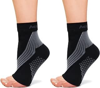 Zerama 1 par Unisex del pie Calcetines de compresi/ón Anticansancio Fascitis Plantar del tal/ón Spurs Dolor Calcetines de Punto para Mujeres de los Hombres