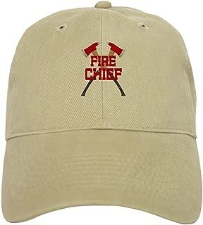 CafePress Fire Axes Firefighter Cap Baseball Cap