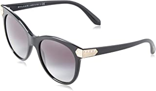 BVLGARI Serpenti Black Crystal Enamel Oversized Sunglasses 8185