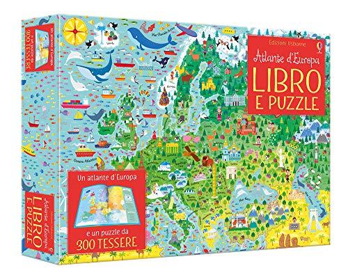 Atlante illustrato d'Europa. Ediz. a colori. Con puzzle