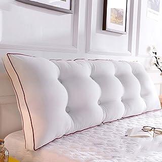 BTPDIAN Dos de lit, Oreiller Long de Coussin de canapé, Le Dossier est positionné pour Supporter l'oreiller, la Lecture et...