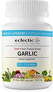 Eclectic Garlic 550 Mg Cog Fduv, Blue, 90 Count