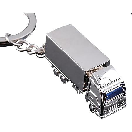Lkw Schlüsselanhänger In Geschenkschachtel Personalisierbar Mit Gravur Bürobedarf Schreibwaren