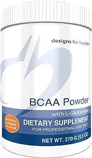 Designs for Health BCAA Powder with L-Glutamine - Branched Chain Amino Acids Powder + L-Glutamine Supplement to Support Mu...