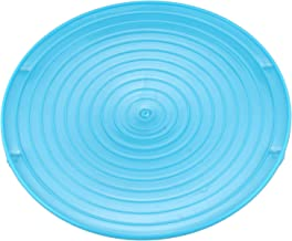 Perezy Multifuncion Horno microondas Estante Bandeja de calefaccion con Doble Aislamiento Rack Bowls Organizador en Capas Herramienta Organizador Accesorios de Cocina-Azul