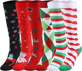YOLIX Compression Socks 20-30mmHg for Women & Men - Graduated Knee High Stockings Best for Running, Medical, Athletic, Pregnancy, Travel