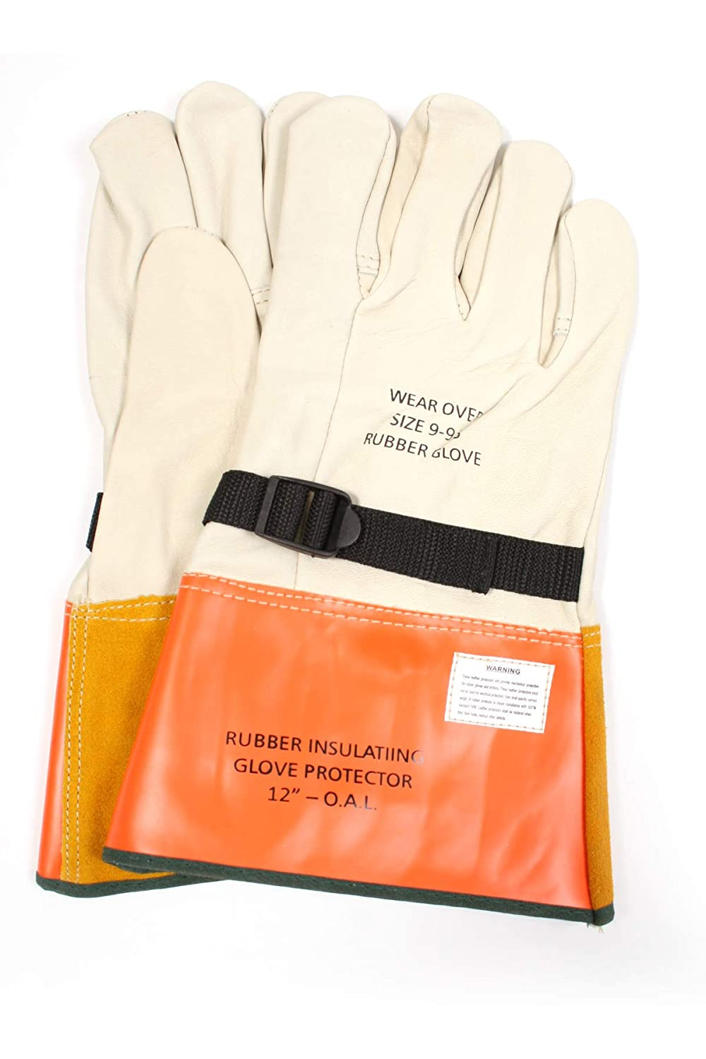 National Safety safety Apparel DWH12L11 Leather S Max 74% OFF with Cinch Protectors