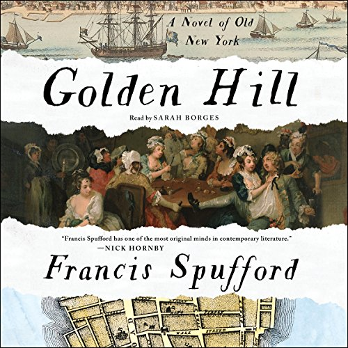 Golden Hill audiobook cover art