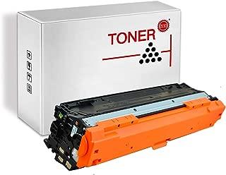PRINT-RITE CE341A 651A HP651A HP651 CE341 Cyan Toner Cartridge 16000 Page Yield 1 Pack Compatible for HP Laserjet Enterprise 700 Color MFP M775dn/M775f/M775z/M775z+ Printer