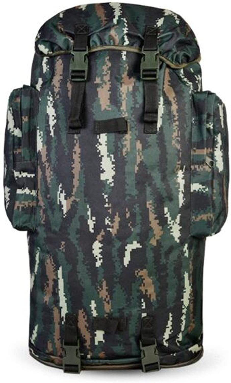 Backpack Big Business Camouflage Mountaineering Bag Shoulders Men and Women Backpack Travel Capacity, Tabby Camouflage