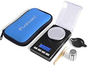 Fuzion Digital Milligram Scale 50g/ 0.001g, Portable Jewelry Scale with LCD Backlit, Tare for Powder, Food, Gem, Reloading, Batteries Included