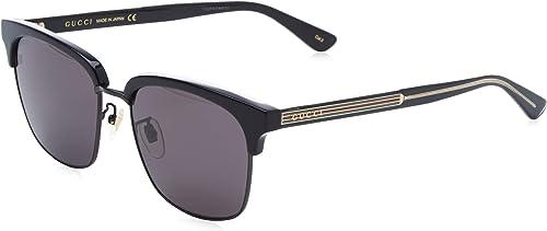 gucci gg0382s-001 occhiali da sole uomo