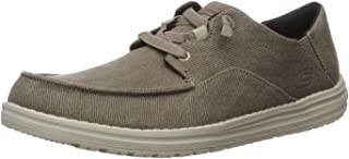 Skechers Mens 66384 Melson-volgo Canvas Slip on
