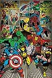 Marvel Comics - Here Come The Heroes Helden Poster Druck -