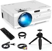 Mini Projector 1080P,Merisny 2400 Lumens Video Projector 176