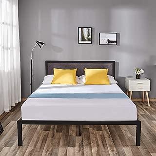solid foundation bed frame