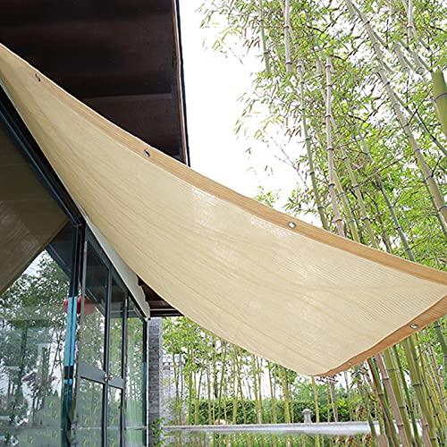 YHBZ Pflanzen-Schattennetze,atmungsaktives Sonnensegel,Schattengewebe,Sonnenschutz-Terrassenüberdachung,rechteckige HDPE-durchlässige Mesh-Plane,anpassbar,2x1.5m(7 * 5ft)
