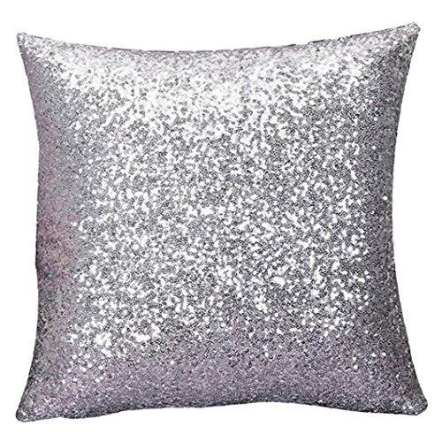 1pc Glitter Paillettes Federa Colorato Paillettes Federe Colore Cambia Base Divano Decorativo