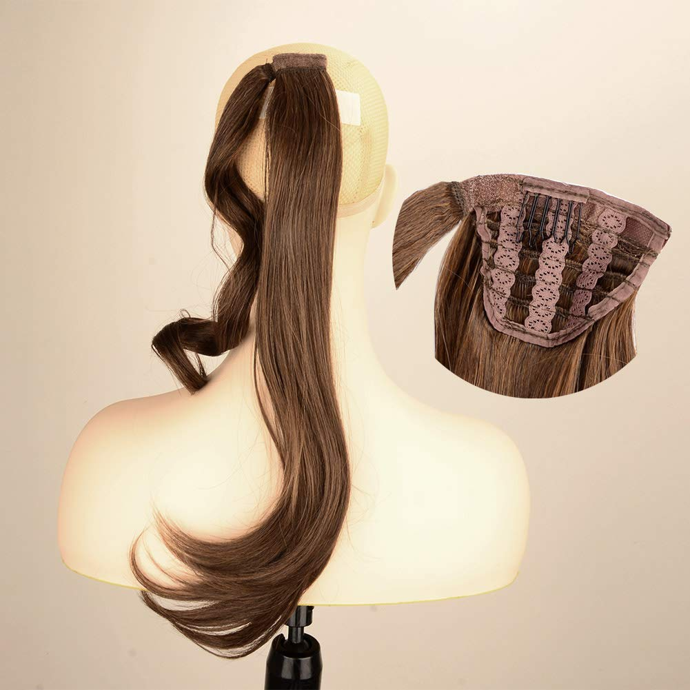 DIGUAN Today's only Natural straight Curly Popular Curl Wave Synthetic Ombre Wra Body