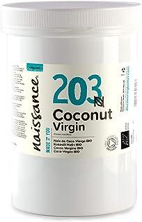 Naissance Aceite Vegetal de Coco BIO 500g - 100% puro, virgen, prensado en frío, certificado ecológico, vegano y no OGM