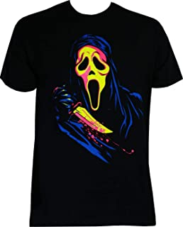 Scream Ghostface Neon Men's T-Shirt