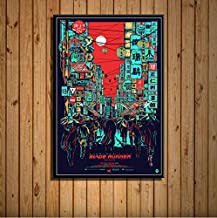 Blade Runner 2049 Harrison Ford Classic Sci-Fi Movie Hot Art Painting Silk Canvas Poster Wall Home Decor Artwork 40 * 60Cm...